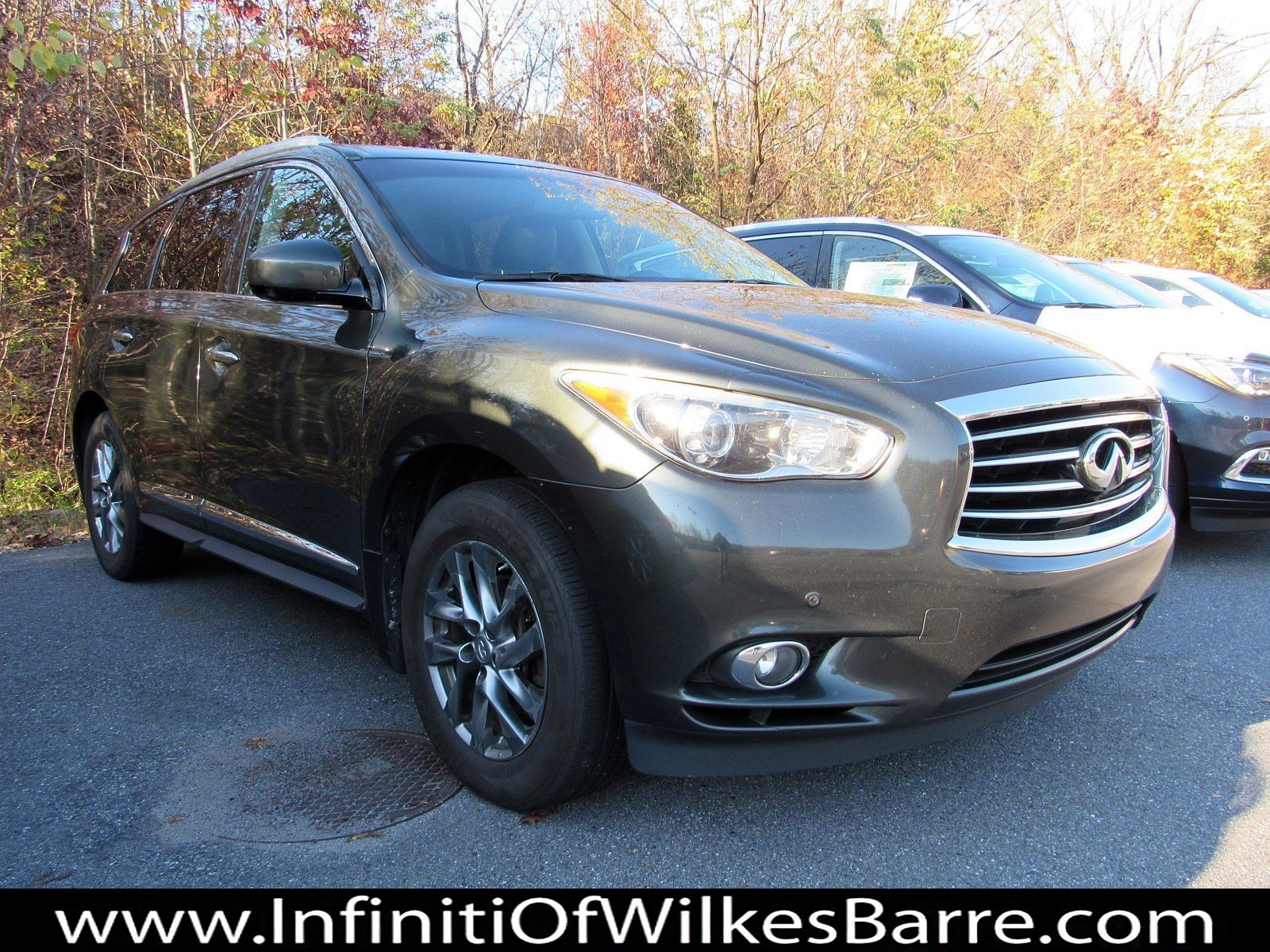 Pre-Owned 2013 INFINITI JX35 4DR AWD