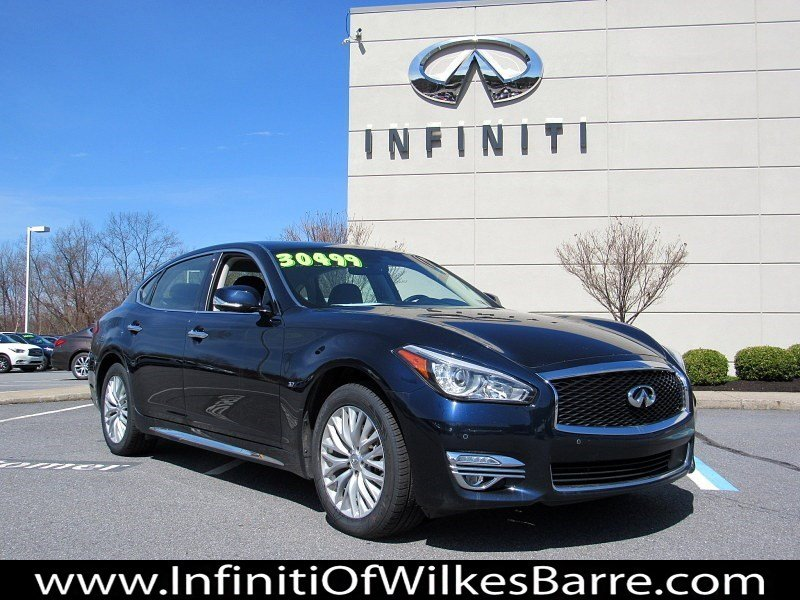 Pre Owned 2016 Infiniti Q70l 3 7x 4d Sedan In Wilkes Barre 1810 Bennett Of