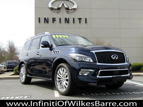Pre-Owned 2015 INFINITI QX80 Theater